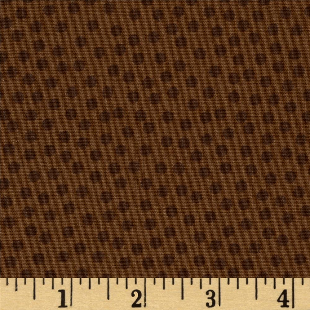 Metro Dots Brown