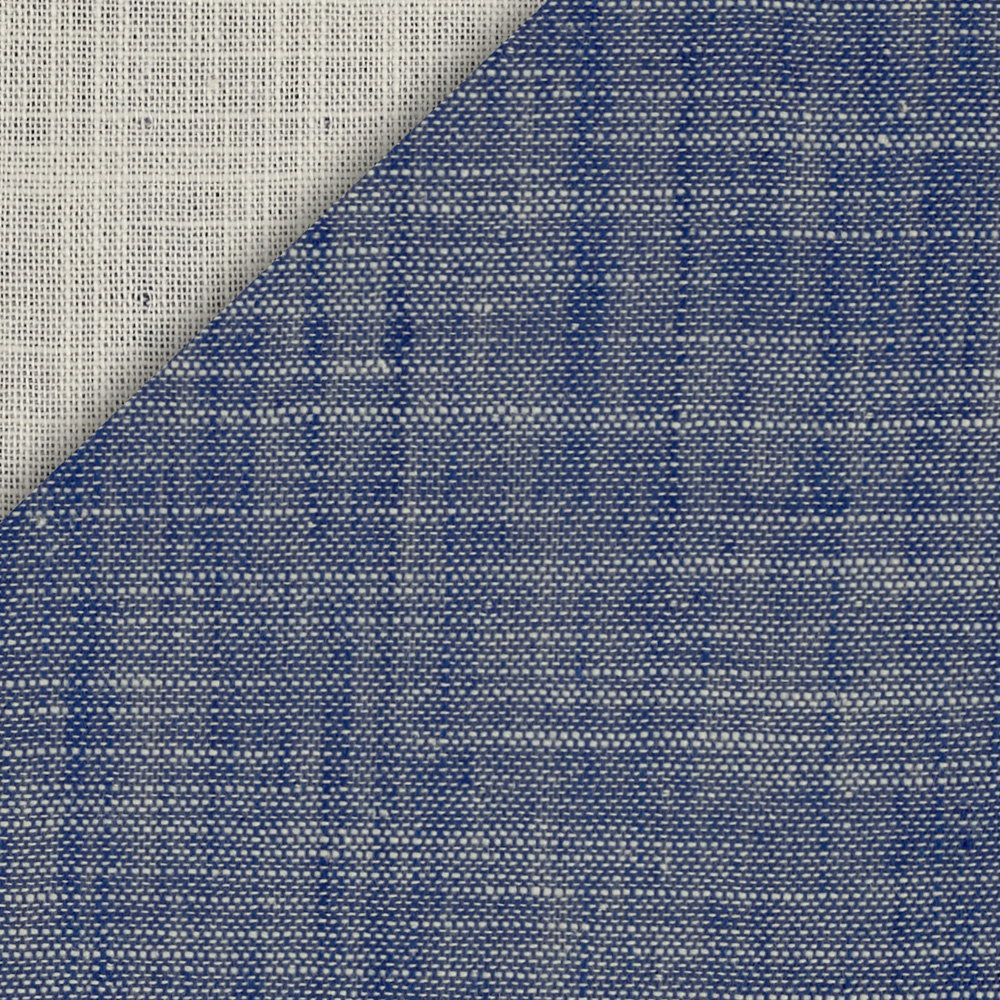 Kaufman Double Cloth Cotton Chambray Indigo Fabric