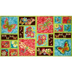 Happy Blooms Craft Panel Multi