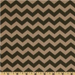 Capri Basics Chevron Brown