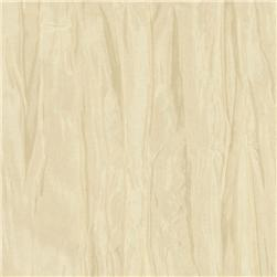 Crushed Taffeta Ivory Fabric