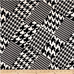 Ponte de Roma Mixed Houndstooth Black/White