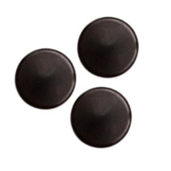 Fashion Button 3/8'' Cumberland Black
