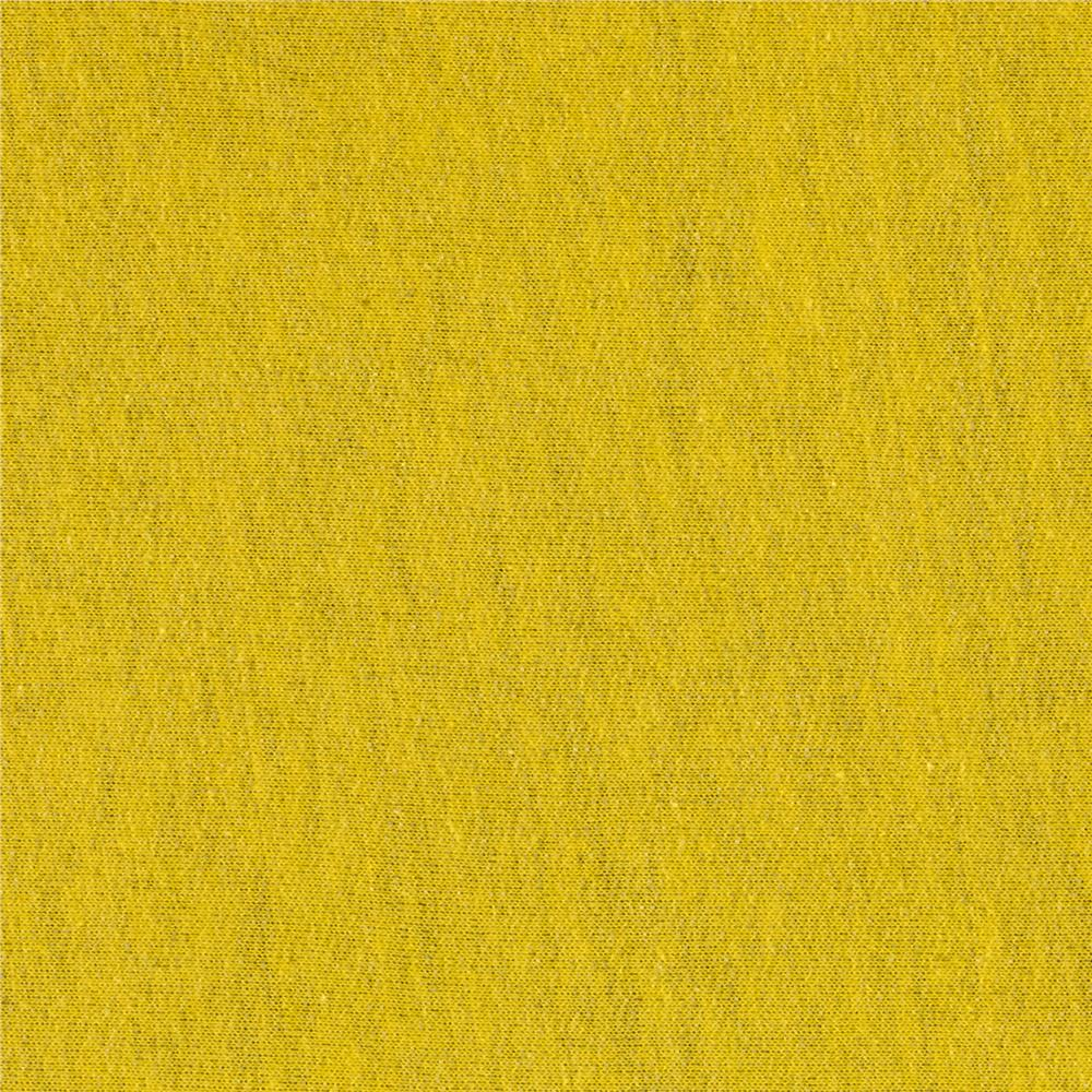 French Terry Solid Bright Yellow