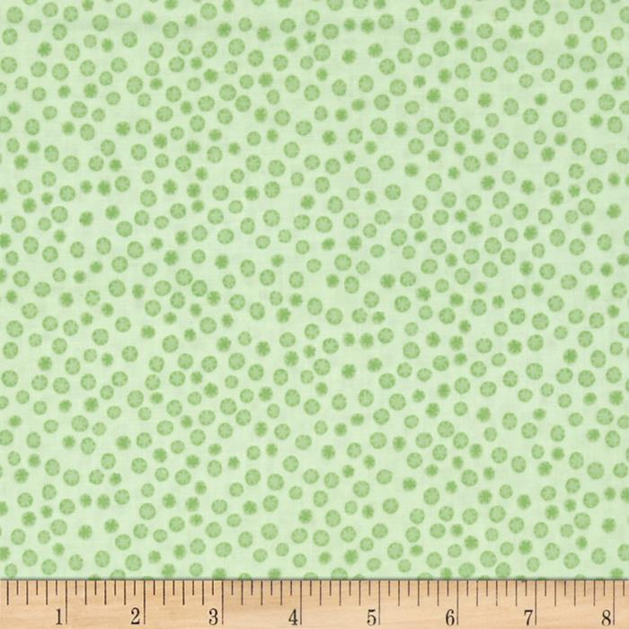 Monkey Business Dots Green