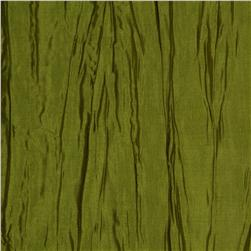 Crushed Taffeta Dark Lime