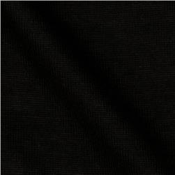Rayon Blend Tissue Jersey Knit Black