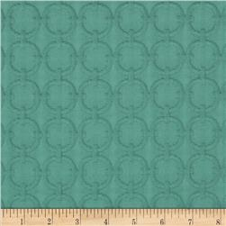 Waverly Full Circle Matelasse Turquoise