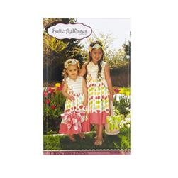 Butterfly Kisses Criss Cross Dress Pattern