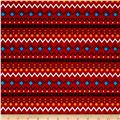It's a Kid's World Border Stripe Red
