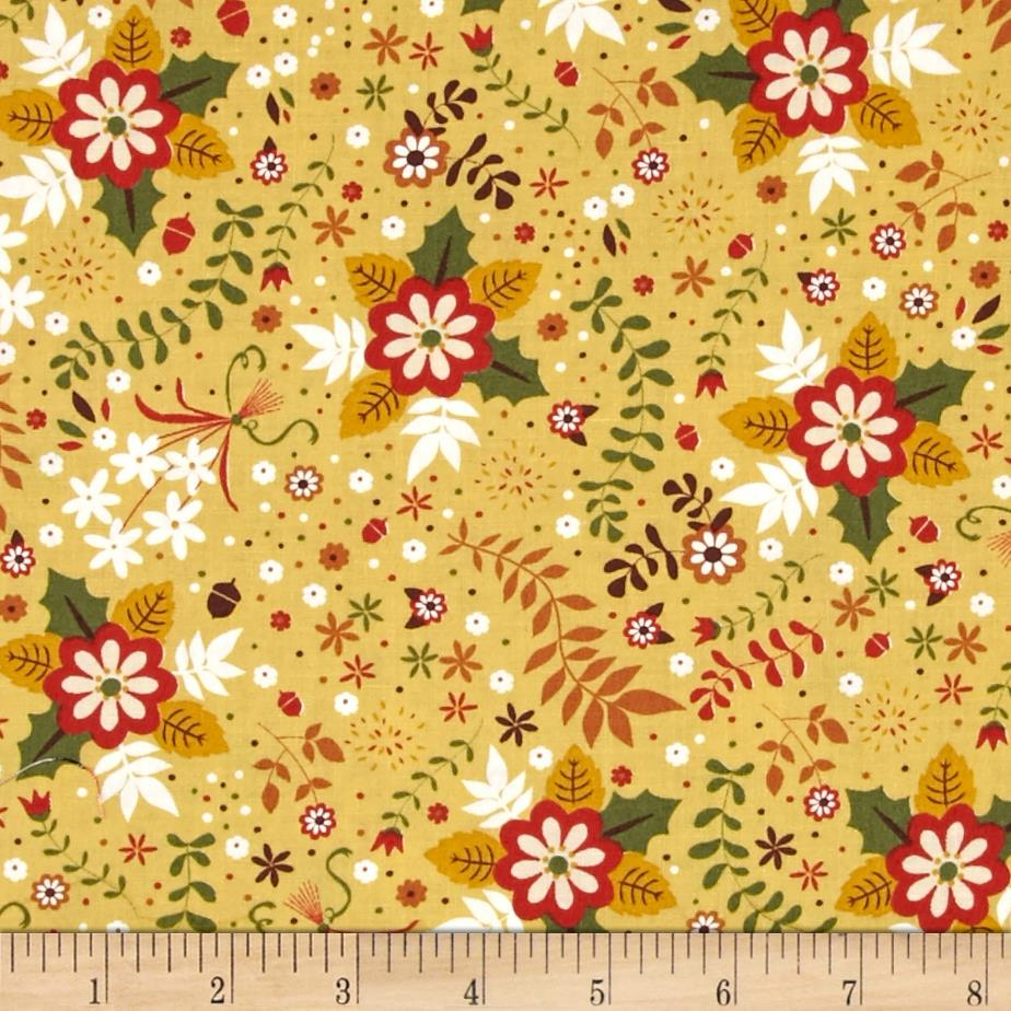 Sly as a Fox Floral Brown