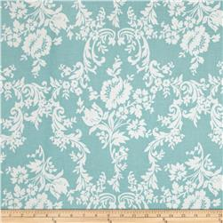 Riley Blake Lost and Found 2 Damask Aqua