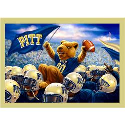 Collegiate Fleece Panel University of Pittsburgh Blue