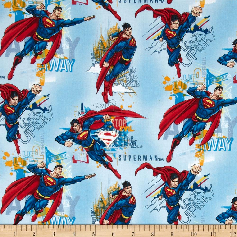 Superman Allover Blue