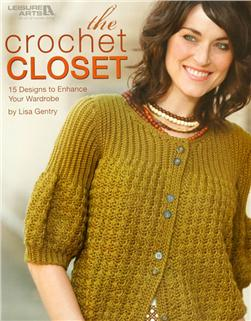 "Leisure Arts ""The Crochet Closet"" Book"