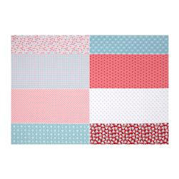 Riley Blake Calico Days Fat Eighth Panel Pink