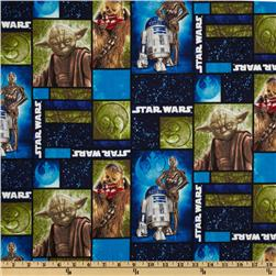 Star Wars Character Collage Blue