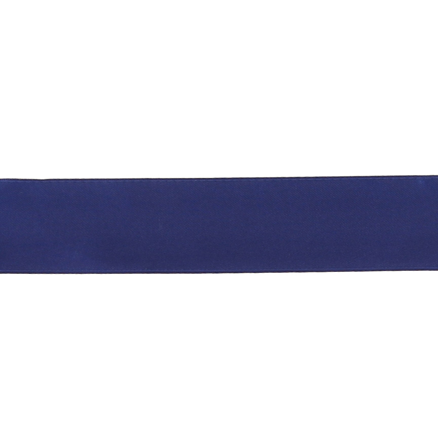 1 1/2'' Double-sided Satin Ribbon Royal Blue Fabric