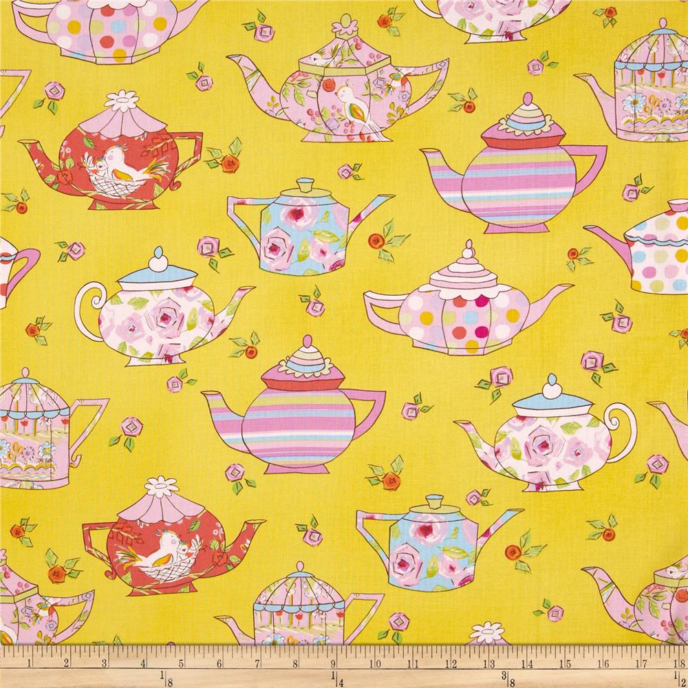 Tiddlywinks Teatime Yellow