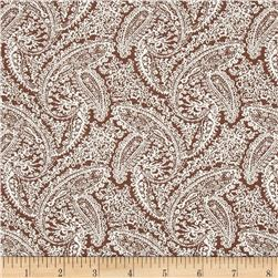 Dots and More Paisley Brown