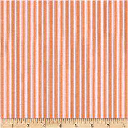 Dena Designs Sunshine Linen Blend Stripe Orange
