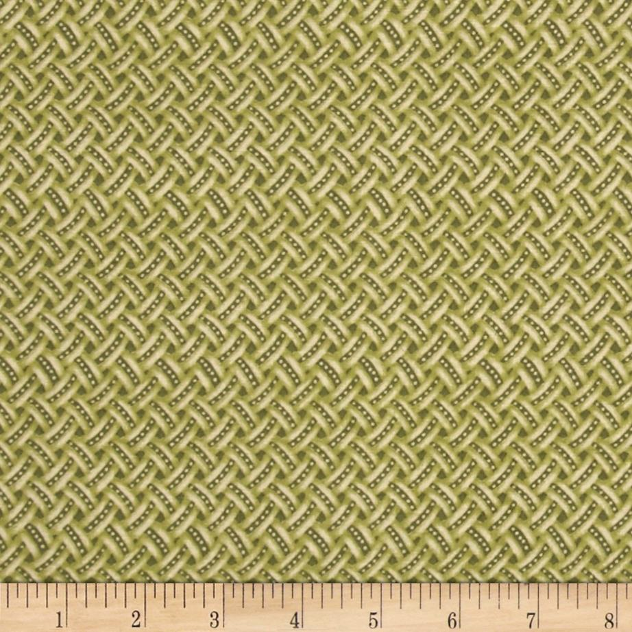 Anne of Green Gables Weave Green
