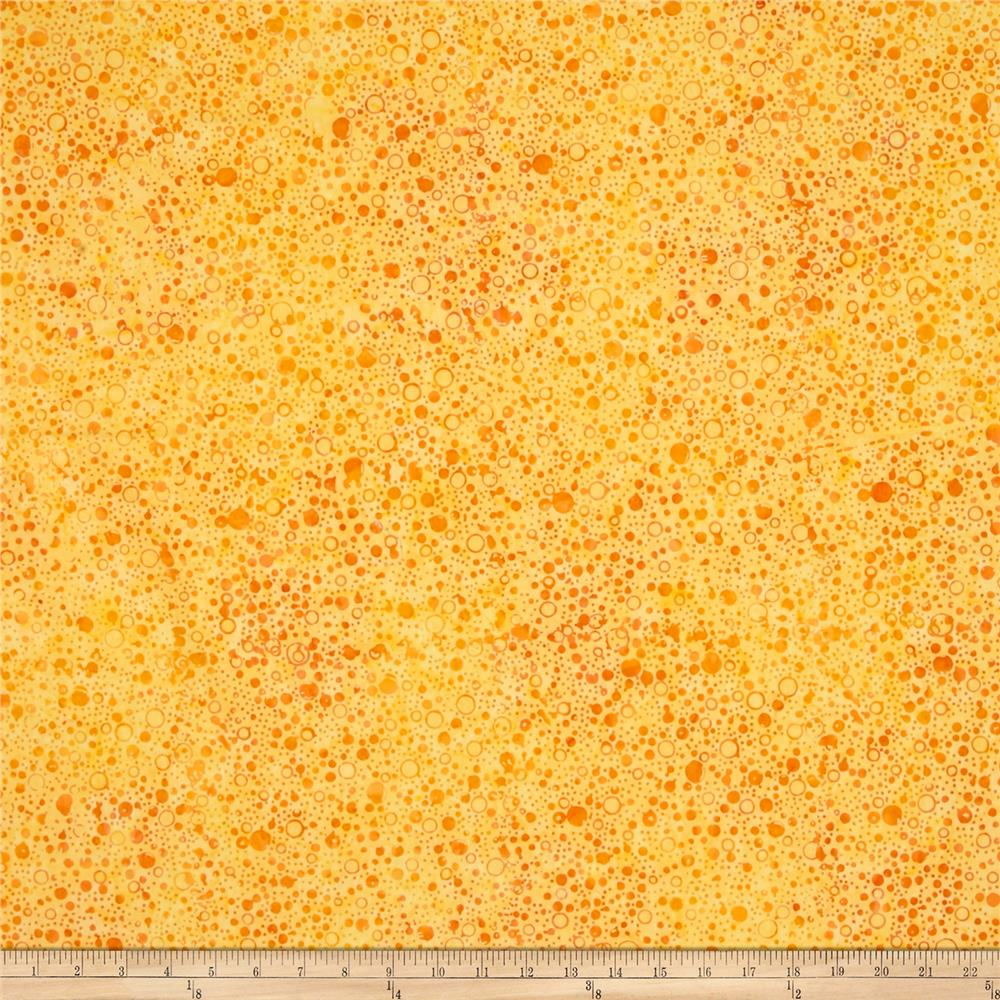 Wilmington Batiks Splash Dots Yellow