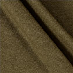 Polyester Jersey Knit Solid Light Olive