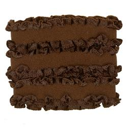 Dritz Ruffle Elastic 5/8''X1 Yard - Brown