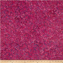 Batik Central Java Leaf Vine Fuchsia