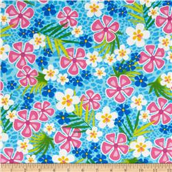Beach Party Floral Turquoise