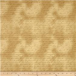 Longfellow Letters Gold