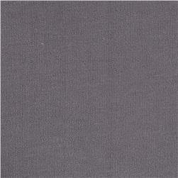 Cotton French Terry Knit Solid Light Gray