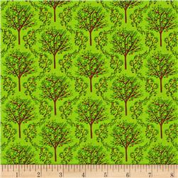 Barnyard Quilts Trees Green