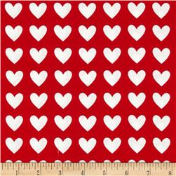 Remix Hearts Red