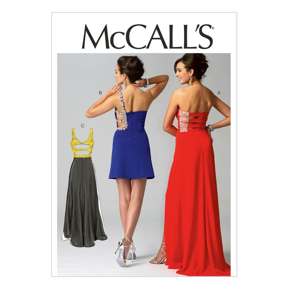 McCall's Misses' Dresses Pattern M6894 Size AX5