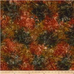 Kaufman Artisan Batiks Patina Handpaints Mottled Chestnut