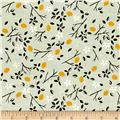 Cotton + Steel From Porto With Love Lemon Trees Mint