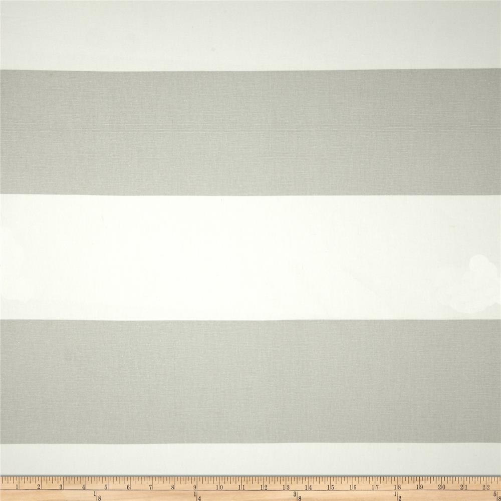 Premier Prints Cabana Stripe French Grey