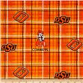 Collegiate Cotton Broadcloth Oklahoma State University Orange