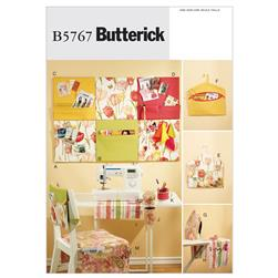Butterick Sewing Room Organizers Pattern B5767 Size OSZ