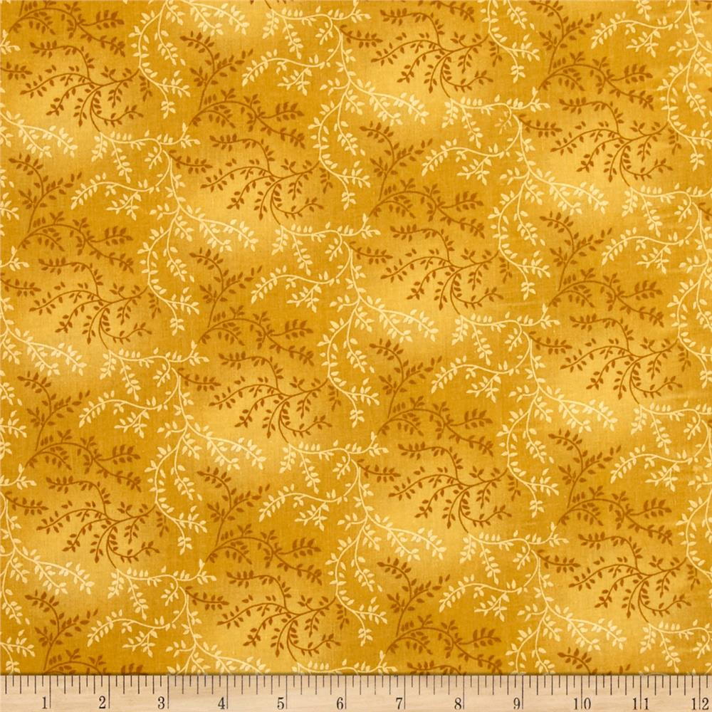 "108"" Wide Quilt Back Tonal Vineyard Mustard"