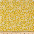 Riley Blake Fun & Games Gears Yellow