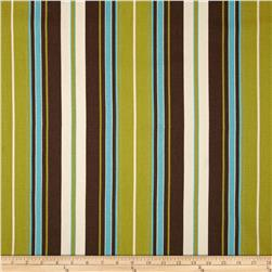 Premier Prints Veranda Stripe Chocolate/Natural Fabric