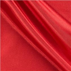 58'' China Silk Polyester Lining Red Fabric