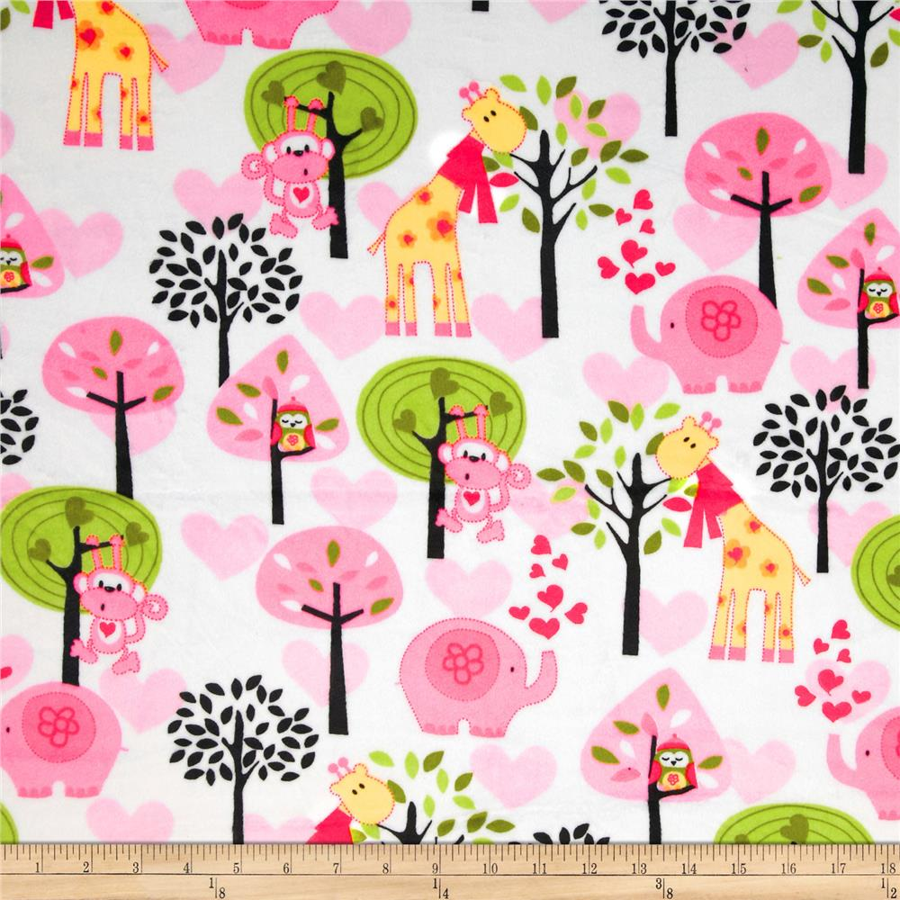Minky Animal Trees