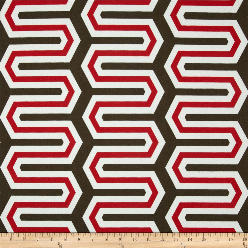 Premier Prints Indoor/Outdoor Cadee Rojo