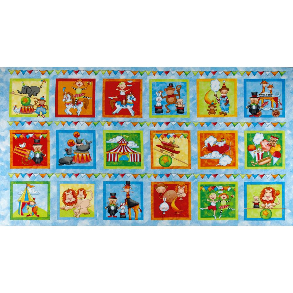 Circus Circus Blocks Blue/Multi