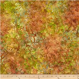 Robert Kaufman Artisan Batiks Cornucopia Abstract Flowers Leaf