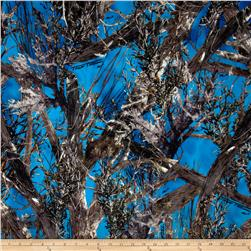 True Timber Outdoors Camouflage True Suede Blue Fabric